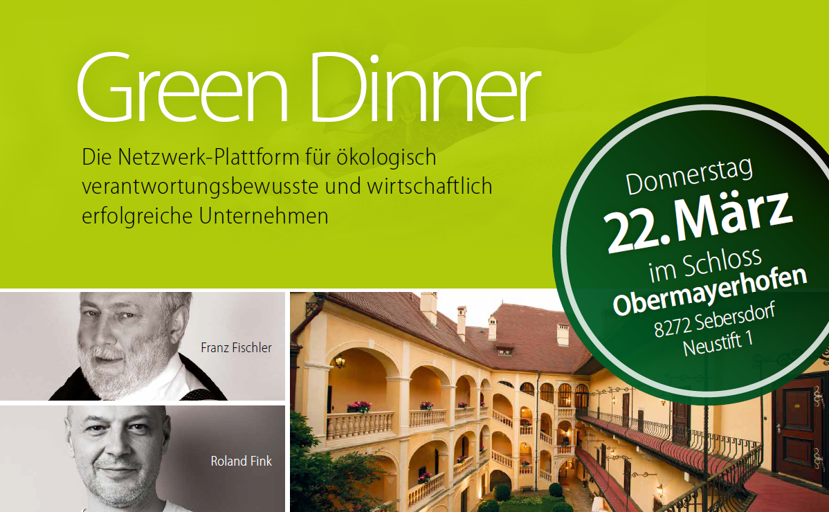 Green Dinner Sujet