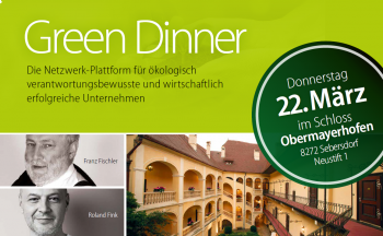 green-dinner; Ökoregion Kaindorf