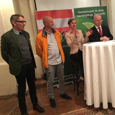 Green Dinner Herk Fink Ertl Seitinger